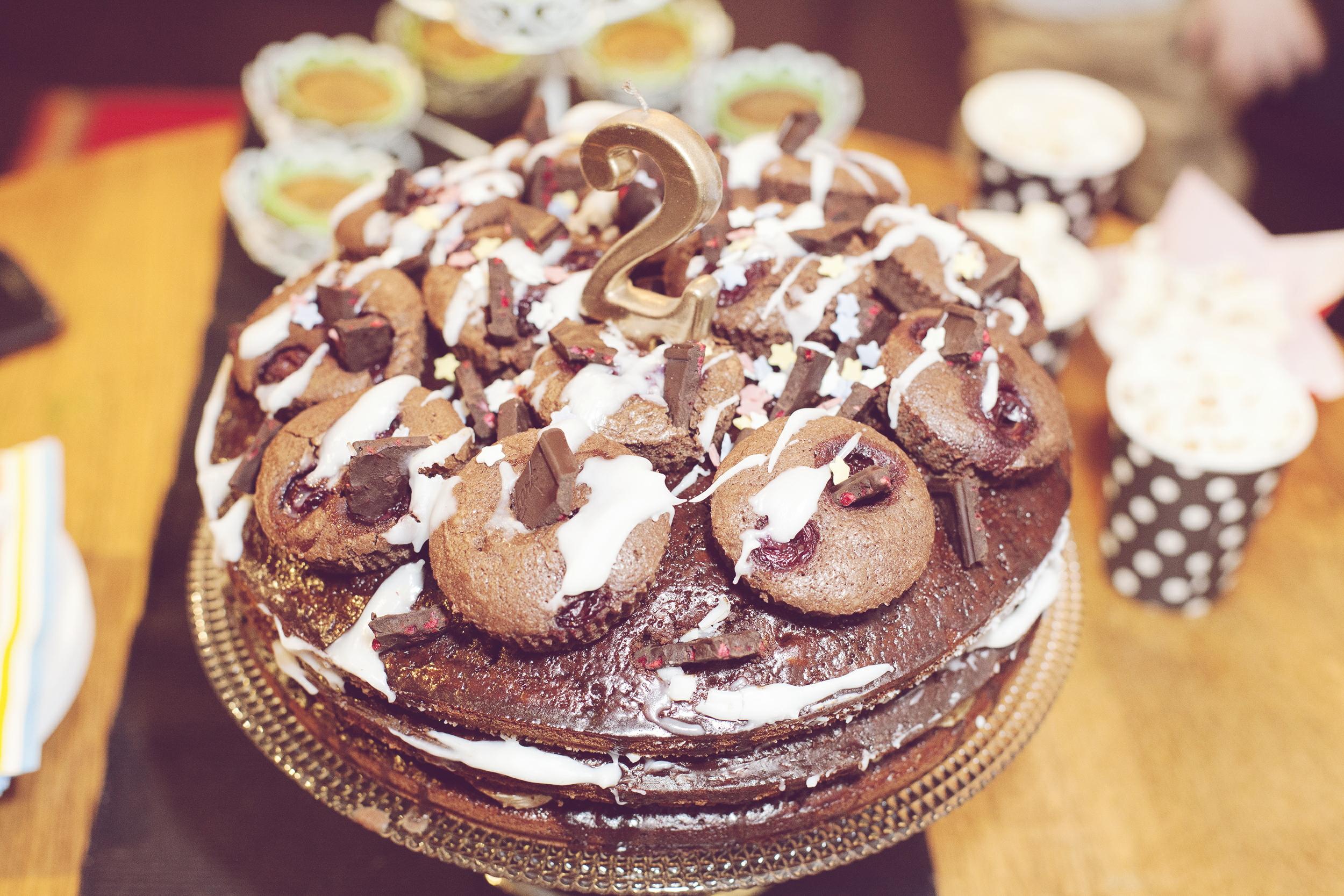 Cherry Dark Chocolate Birthday Cake Recipe Diary Free